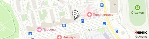 Мона на карте Московского