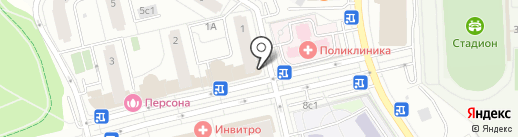 Анекс Тур на карте Московского