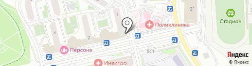 Центр занятости населения г. Москвы на карте Московского