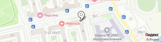 Камелия на карте Московского