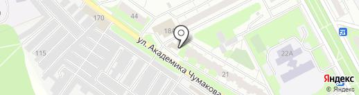 ЗдравСити на карте Московского
