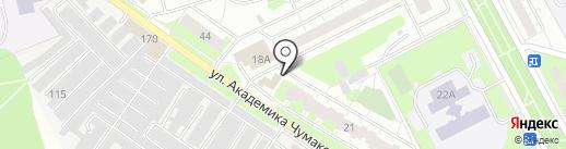 Магазин фруктов и овощей на карте Московского