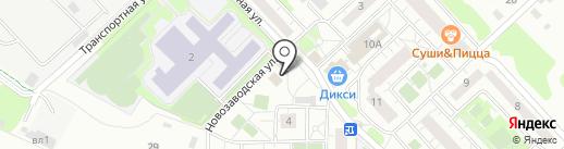МСПК на карте Химок