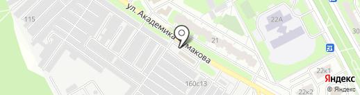Автомойка самообслуживания на карте Московского