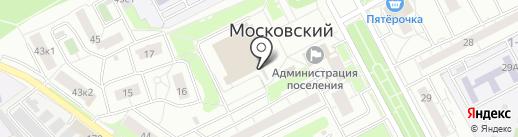 Фотоцентр на карте Московского