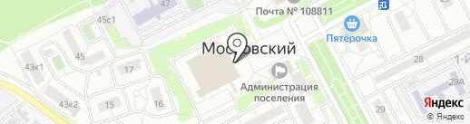 Кафе быстрого питания на карте Московского