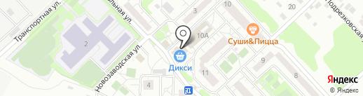 КБ Геобанк на карте Химок