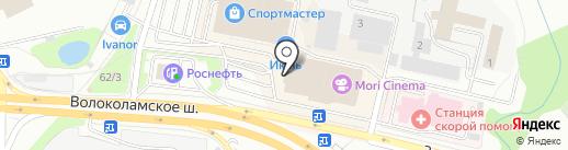 МегаФон на карте Красногорска