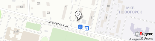 Учебный центр Круг, НОЧУ на карте Химок