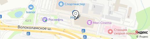 DNS на карте Красногорска