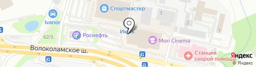 Pizzarito на карте Красногорска