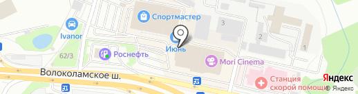 Andgilo Savallini на карте Красногорска