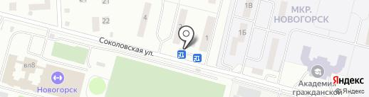 Магазин фастфудной продукции на карте Химок