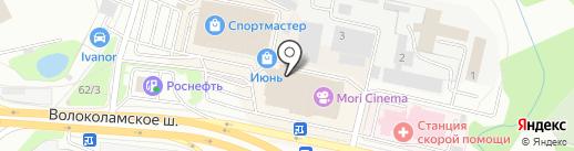 Натали Турс на карте Красногорска