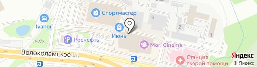 Laboratory на карте Красногорска