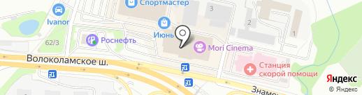 VITAWIN на карте Красногорска