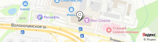 АВТОМАГ на карте Красногорска