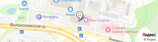 Империя сумок на карте Красногорска