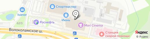 GLENFIELD на карте Красногорска
