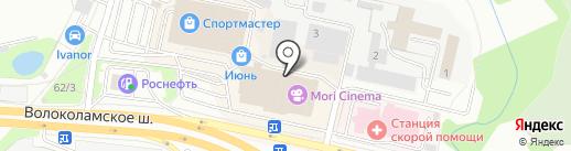 Respect Yourself на карте Красногорска