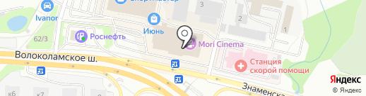 TOY.RU на карте Красногорска