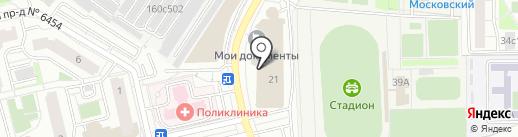 QIWI на карте Московского
