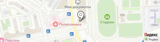 Общественный пункт охраны порядка на карте Московского