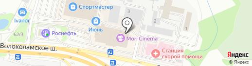Torex на карте Красногорска