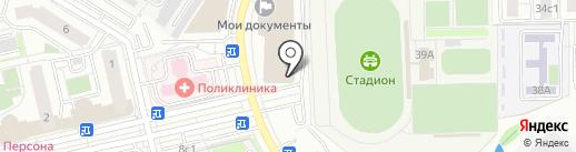 3-й район на карте Московского