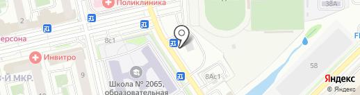 Киоск печатной продукции на карте Московского