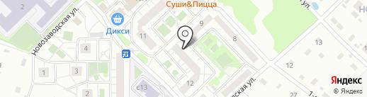 Новоподрезково-Вет на карте Химок