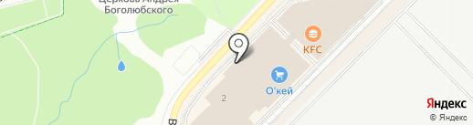 AQUAФЛОТ на карте Московского
