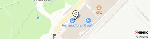 ZEWANA на карте Московского