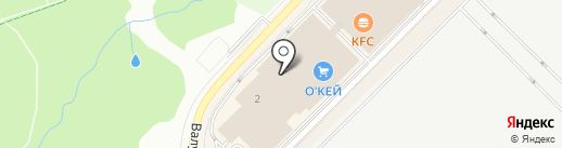 Pay.Travel на карте Московского