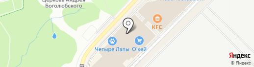 Остров сокровищ на карте Московского