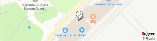 PROFTOP на карте Московского