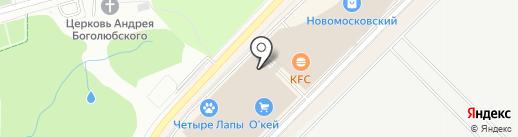 Спортландия на карте Московского