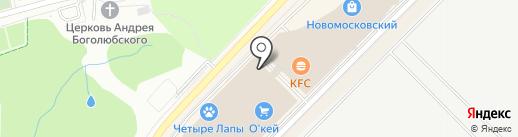 Rollmaster на карте Московского