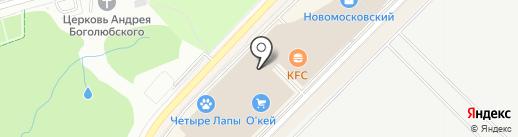 КБ Геобанк на карте Московского