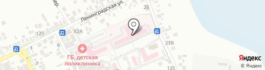 Анапское отделение судебно-медицинской экспертизы на карте Анапы
