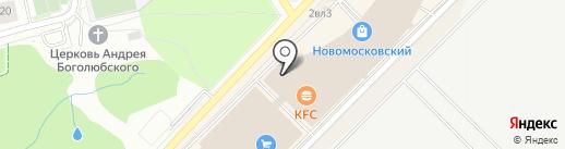 Макдоналдс на карте Московского