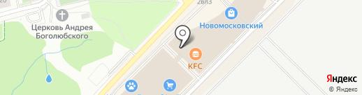 Столичные чебуреки на карте Московского