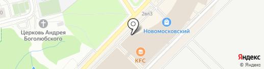 Крошка Картошка на карте Московского