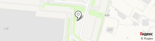 ГАБО Северное на карте Глазово