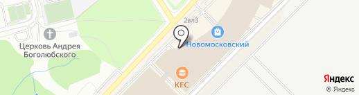 Британский дом на карте Московского