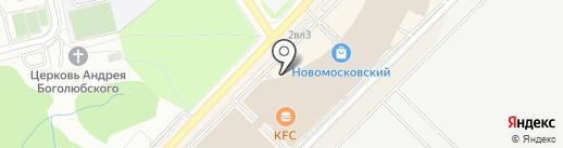 Три сковородки на карте Московского