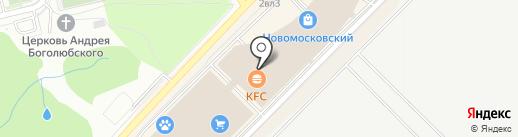 KFC на карте Московского