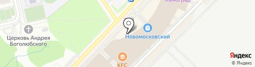 Effect на карте Московского