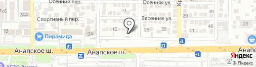 Ростинпром на карте Анапы