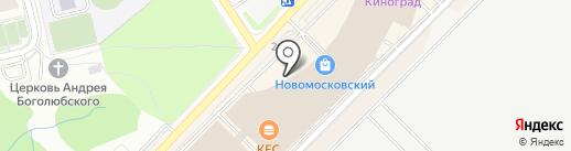 Zemic Rus на карте Московского